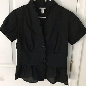 Isaac Mizrahi black top